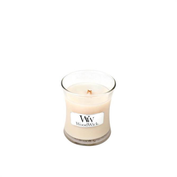 Woodwick Vanilla Bean Mini Hourglass Candle